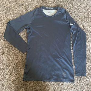Brand New Men's Long Sleeve Nike Shirt Navy Blue